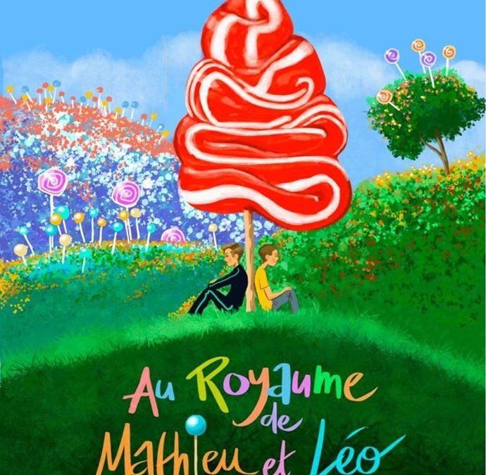 Au royaume de Mathieu et Léo : Le livre